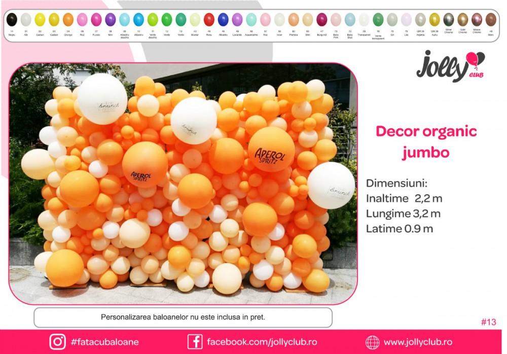 13 Decor organic jumbo